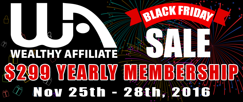 Affiliate Marketing Black Friday Deal banner