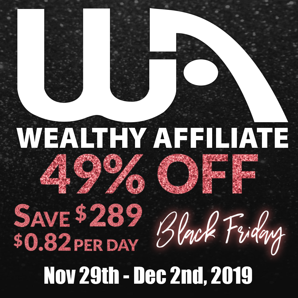 Wealthy Affiliate Best Deal Ever! 1