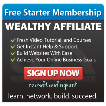 Wealthy Affiliate banner ad
