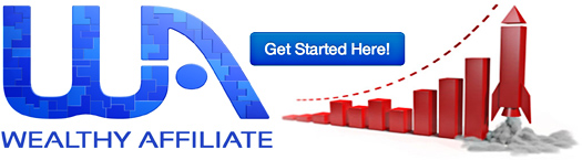 Wealthy Affiliate Get Started Banner